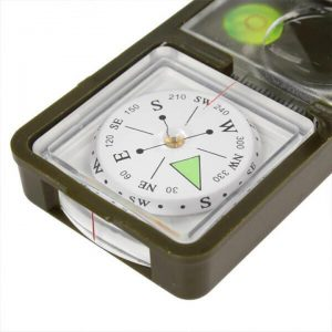 10-in-1 Multi-function Compass Tool