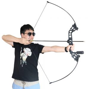 Junxing Straight Bow With Accessories For Archery 1