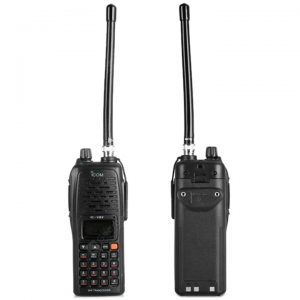 iCOM IC – V82 High Quality Walkie Talkie – Range 10KM (Pair) 1