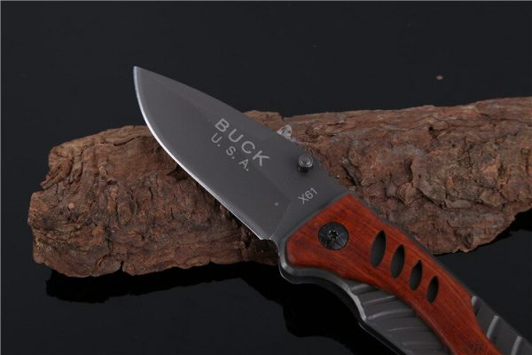 Buck USA X61 Tactical Pocket Survival Knife