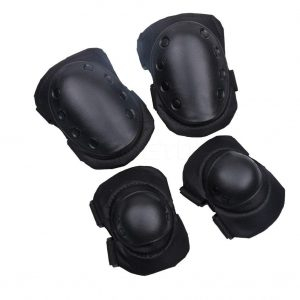 4 Pcs SWAT Armor Knee Pads and Elbow Pads 1