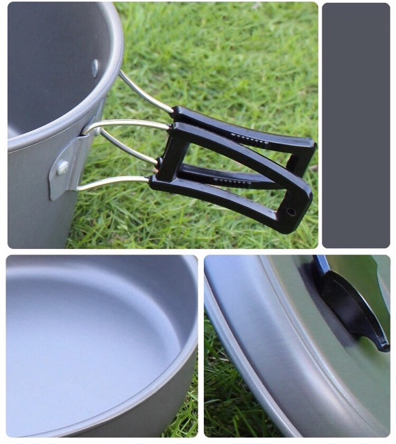 Portable Cooking Set for Camping   High Quality