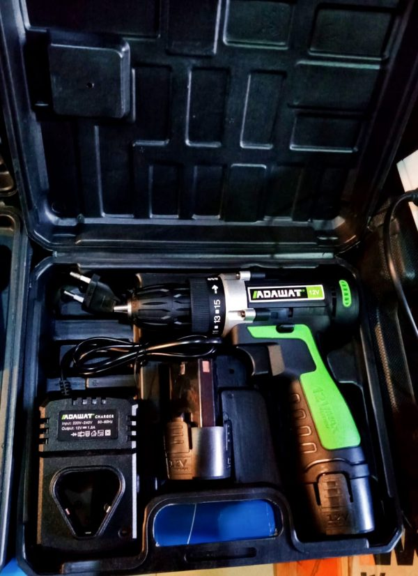 Adawat Cordless Rechargeable Drill Machine