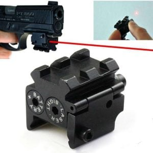 Tactical Mini Laser Sight for Pistols with Rail Mount 1