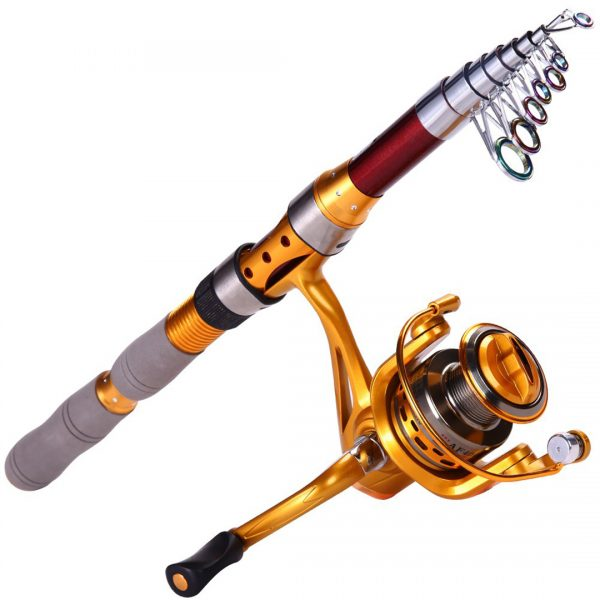 Foldable Fishing Rod with High Quality Reel