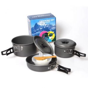 Portable Cooking Set for Camping | High Quality 1