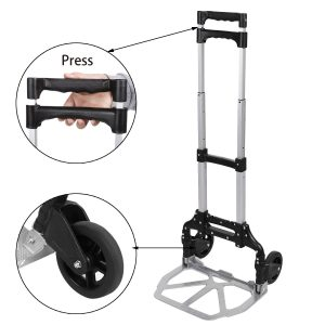 Durable Aluminum Folding Trolley 1