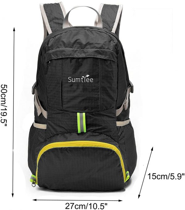 Tactical Packable Rucksack 35L for Hiking and Camping
