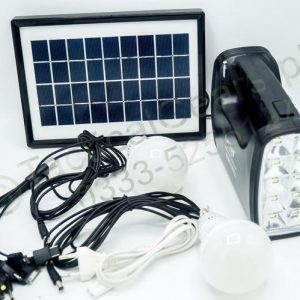 Solar Camping System (Torch 2*Bulb Solar Panel Mp3 Radio)