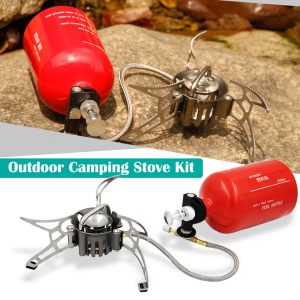 Small Powerful Gasoline Stove for Camping 1
