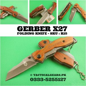 Gerber X27 – Folding Knife – Hunting knife 1