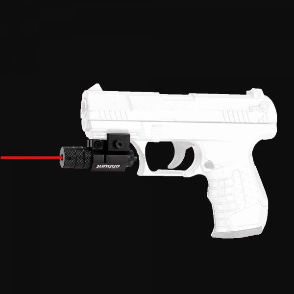 Tactical Red Dot Laser with Barrel Mount (For Pistols)