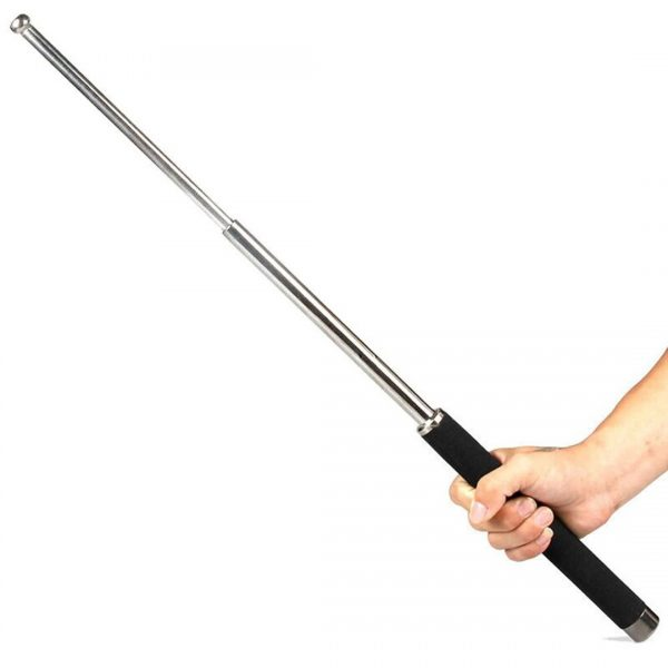 Self Defence Tactical Tool (Heavy Metal and Extendable)