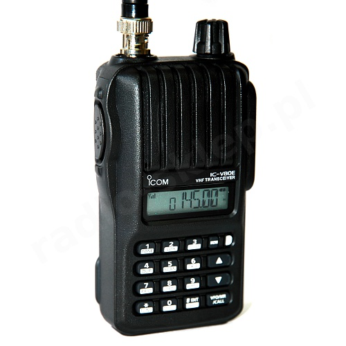ICOM IC-V80E Tactical Walkie Talkie - Range 10KM (Pair)