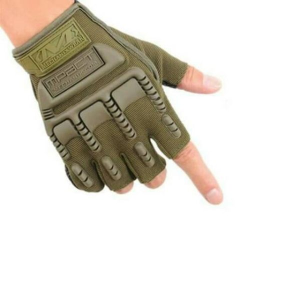 Mechanix MPACT Fingerless Impact-Resistant Gloves for Gym and Bike Riding
