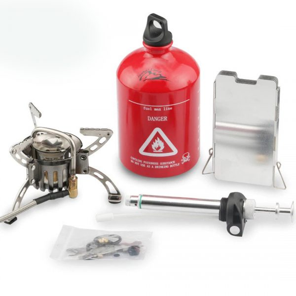 Small Powerful Gasoline Stove for Camping