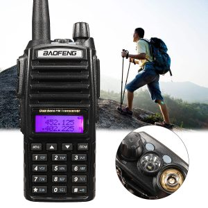BaoFeng UV-82 Walkie Talkie - 7KM Range (Pair)