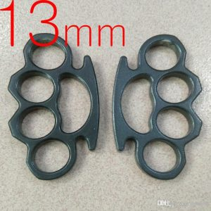 Heavy Steel Knuckles (Black)