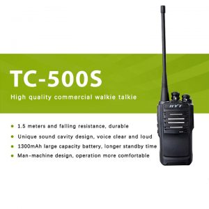 HYT Durable Walkie Talkie - Range 5KM (Pair)